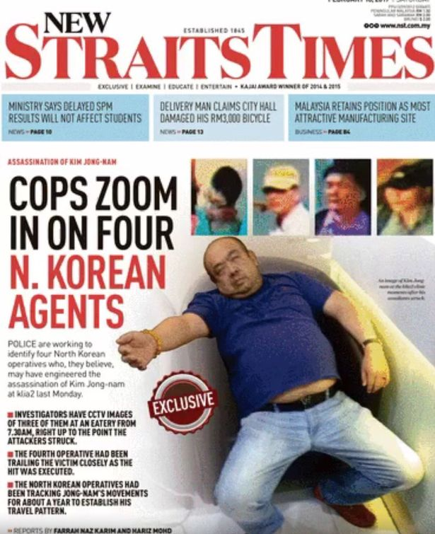 Front-page-of-Malaysia-newspaper-New-Straits-Times